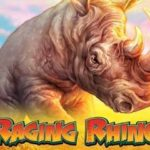 raging rhino slot logo